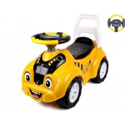 Автомобиль для прогулок ТехноК 67х29х46 см Желтый (6689)