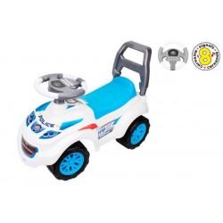 Автомобиль для прогулок, электронный руль, 8 кнопок, звук, 67*32*32см ТехноК (7433)