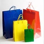 Пакеты, упаковочная бумага, банты